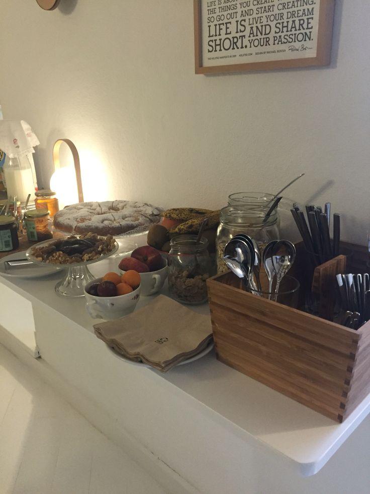 Breakfast at Petit Mao, Mahon, Menorca