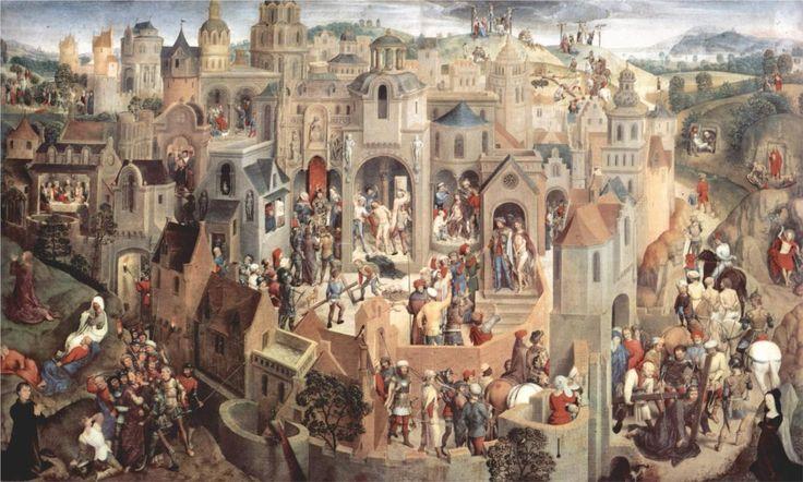 The Passion, 1470-1471 - Hans Memling (Galleria Sabauda, Turin, Italy)
