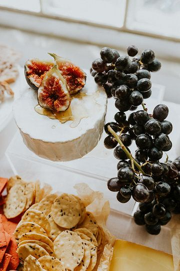 Photo from Macrame Hen's Party collection by Sophie Timothy Photography. Grazing Table by Firecracker