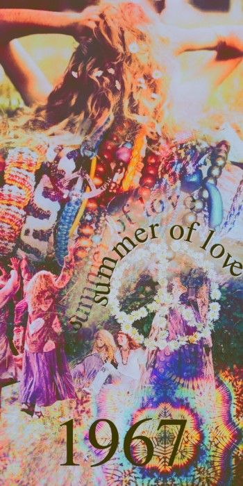 1967...hippies, free love, summer love bringing the past forward into Bohemian styles, ideas and values.