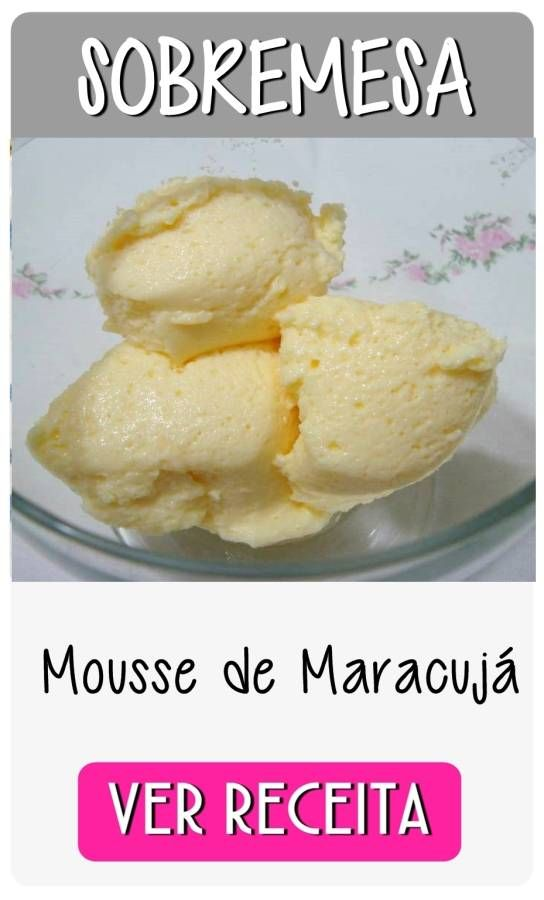 mousse maracuja