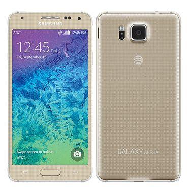 Samsung Galaxy Alpha 32GB Gold - AT&T: Rough Shape