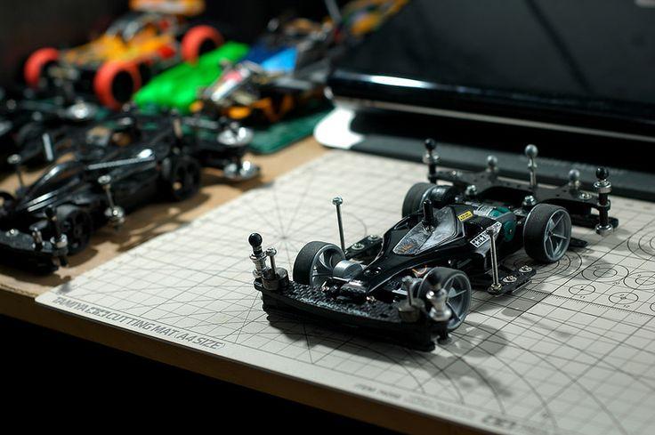 Greyscale Super II Avante Jr. #Tamiya #mini4WD
