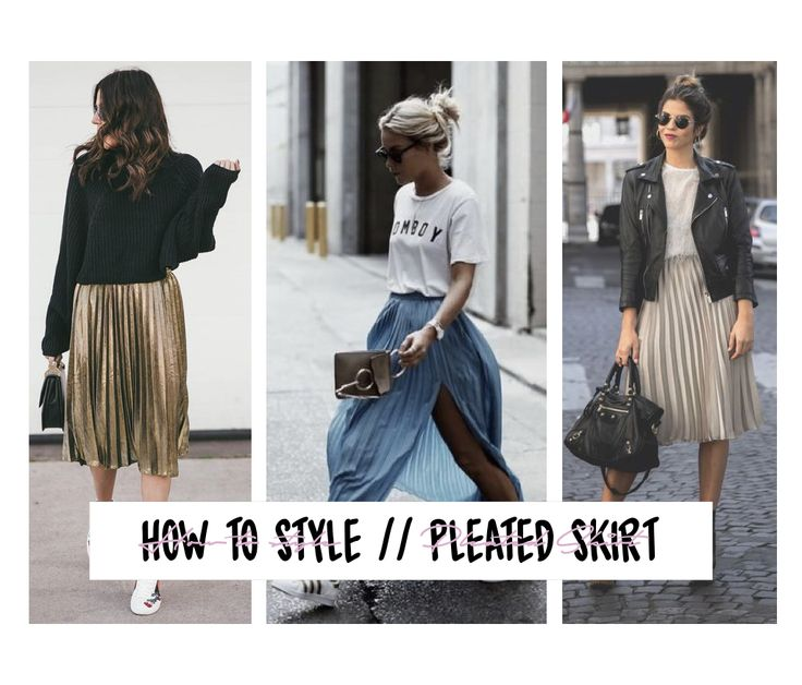 Life with Gabriela: ☆ HOW TO WEAR // Pleated skirt ☆