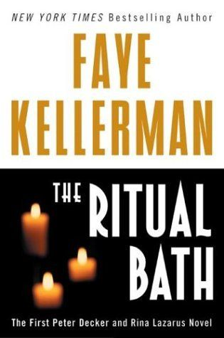 Book discussion questions on fiction book The Ritual Bath by Faye Kellerman.