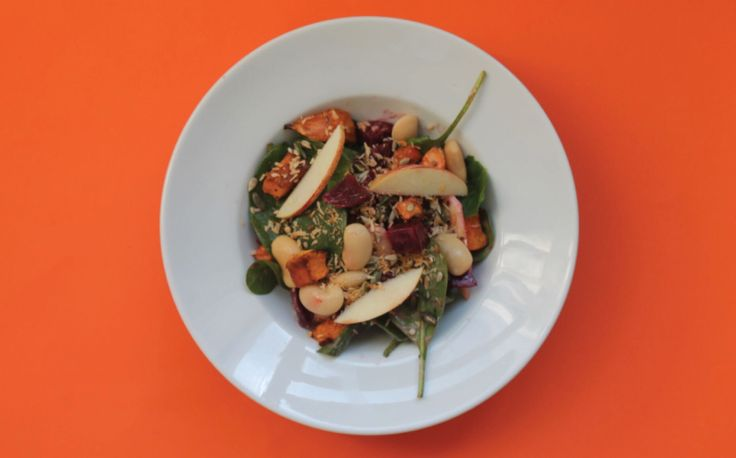 Beet, Sweet Potato, Butter Bean and Coconut Salad - This is Galway