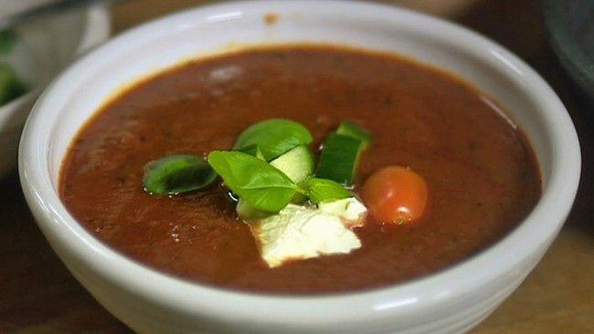 Lisas tomatsuppe (Foto: Fra TV-serien Niklas' mat/SVT)