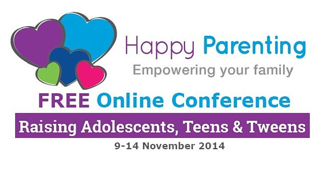 Raising Adolescents, Teens & Tweens Through Love & Connection, for Parents who Care Join Raising Adolescents, Teens & Tweens Online Conference FREE  9 November -14 November 2014 The post Raising Adolescents, Teens & Tweens FREE Online Conference appeared first on Happy Parenting.