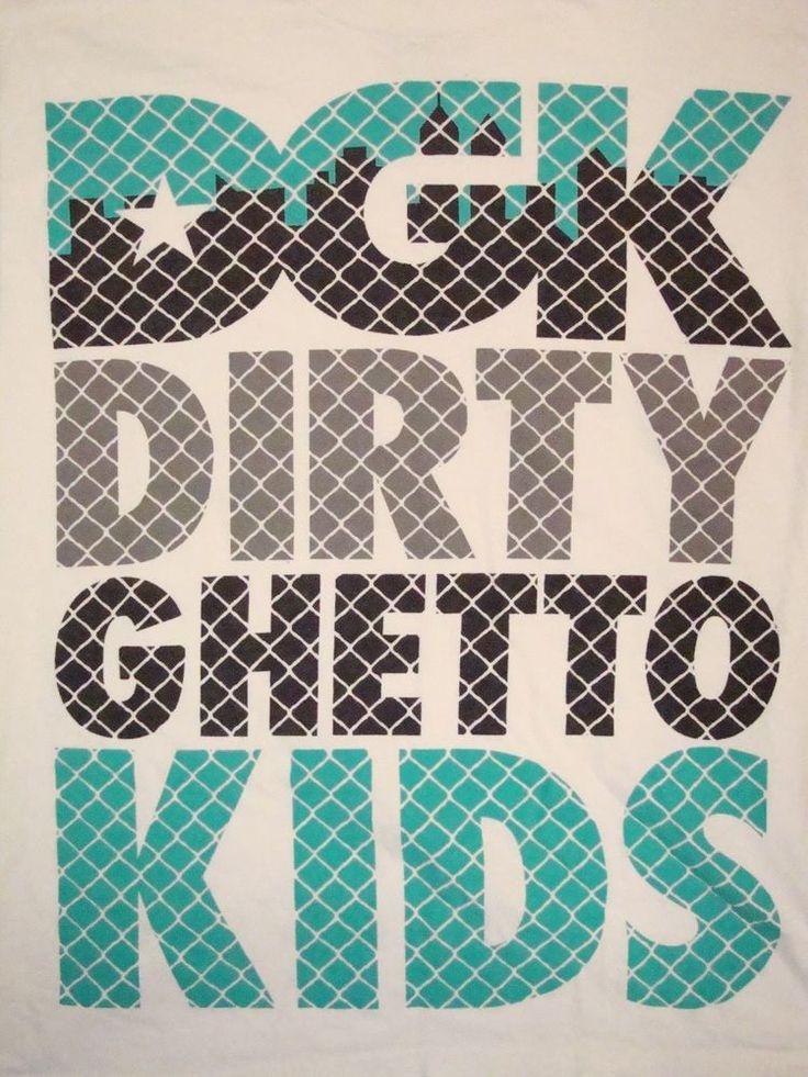 DGK Dirty Ghetto Kids Skateboards Skateboarding Apparel Merch Sponsor T Shirt L #Kayo #GraphicTee