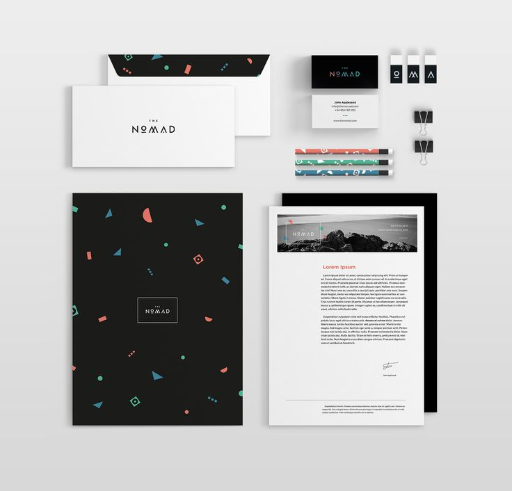 The Nomad | Branding on Behance