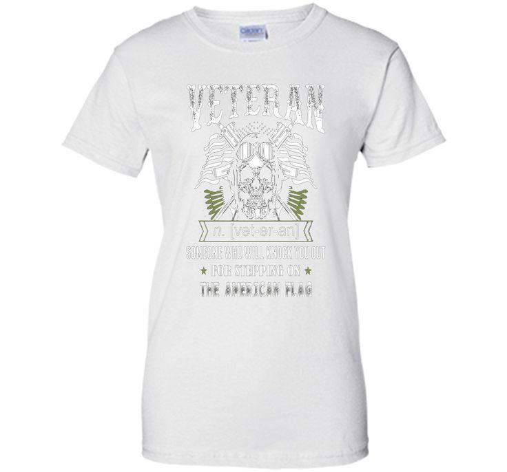 Memorial Day- The American Flag Veteran day T Shirt