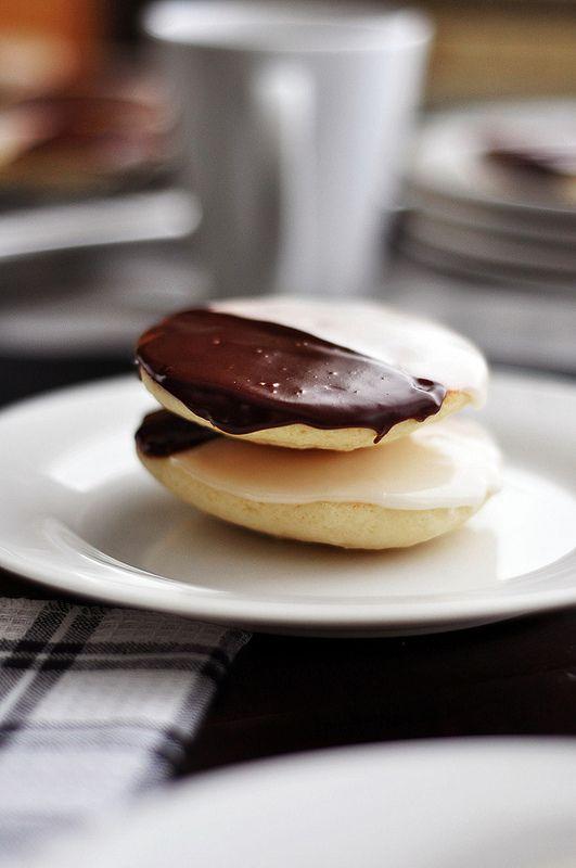 Black and white cookie cake recipe