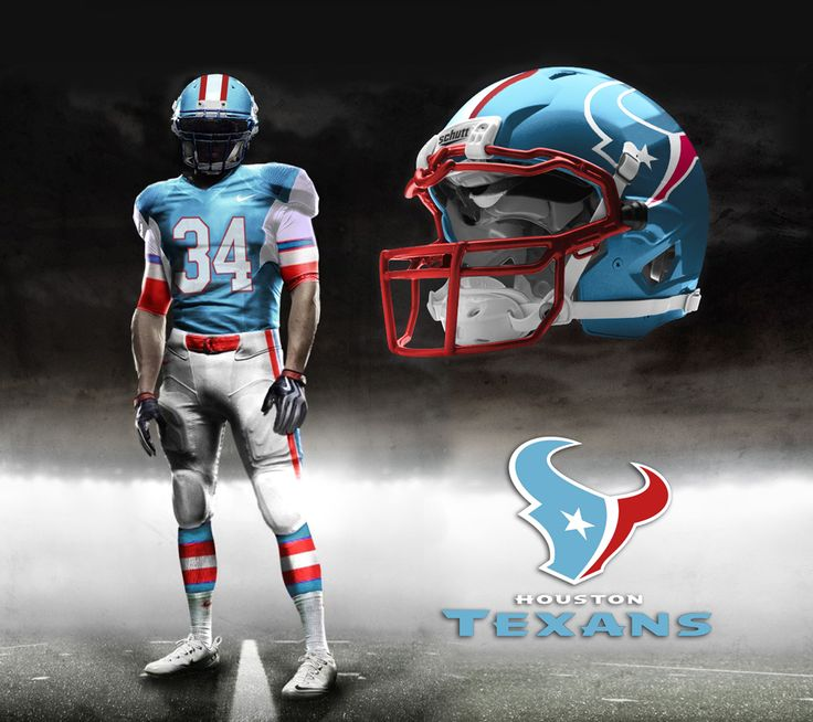 Houston+Texans+2013+2014+Schedule | texans throwback If The Texans Had A Throwback Oilers Uniform ...
