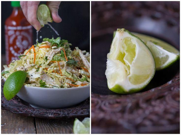 Vietnamese Inspired Chicken & Cabbage Salad (Paleo)