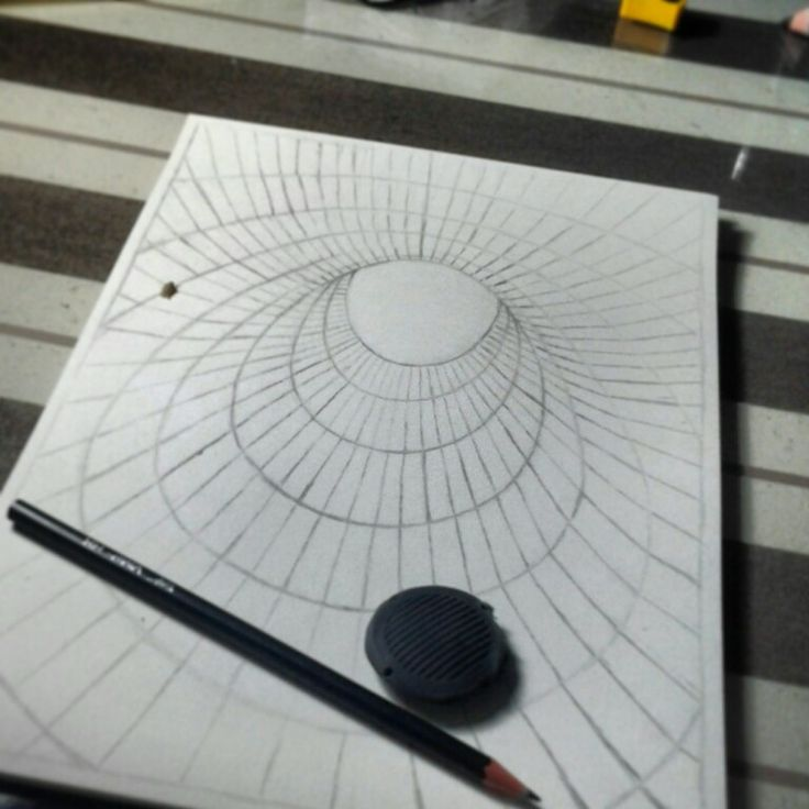 how to draw moving optical illusions on paper