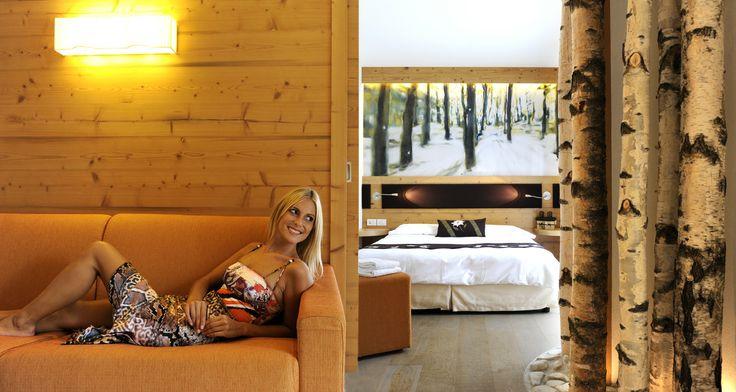 Ein #Hotelzimmer zum wohlfühlen. Mehr Informationen auf http://www.selectedhotels.com/de/hotel/alp-wellness-sport-hotel-panorama