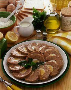 Polpettone freddo Un secondo piatto molto appetitoso che si può anche preparare il giorno prima