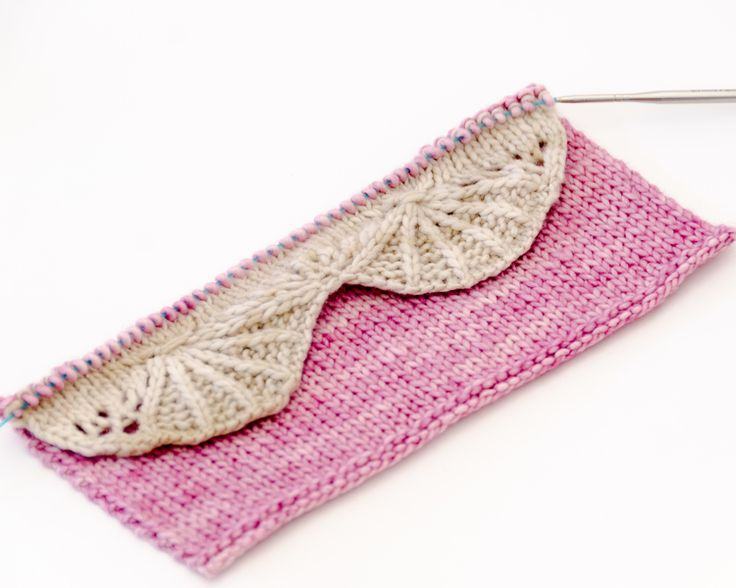 how to put stitches back on knitting needle