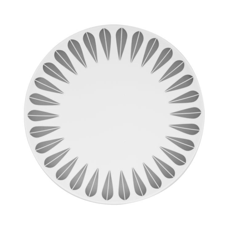 Arne Clausen Plate (Grey)   Modern Intentions - Shop Modern Dishes
