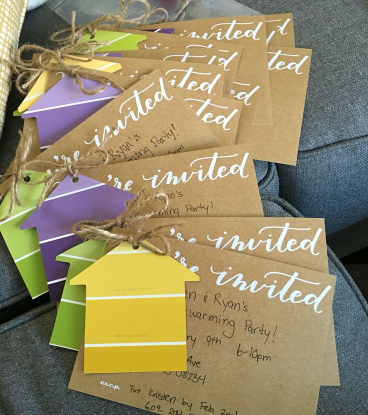 17 Best Ideas About Housewarming Party Invitations On