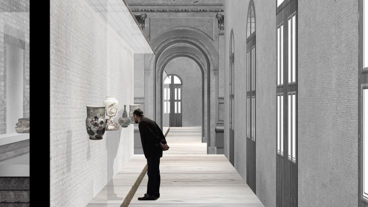 Recovery and value of the historic monument Palacio Pereira   1-st Place competition   Santiago, Chile