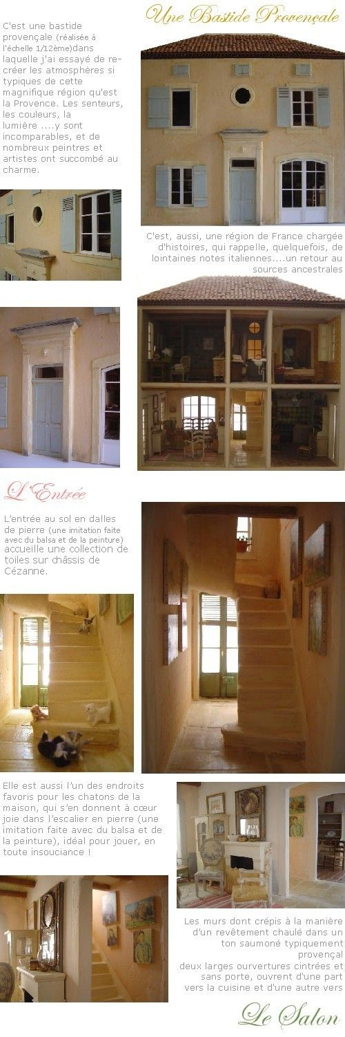 56 best Miniatures - Léau0027s Maison images on Pinterest Doll houses - plan de maison campagne