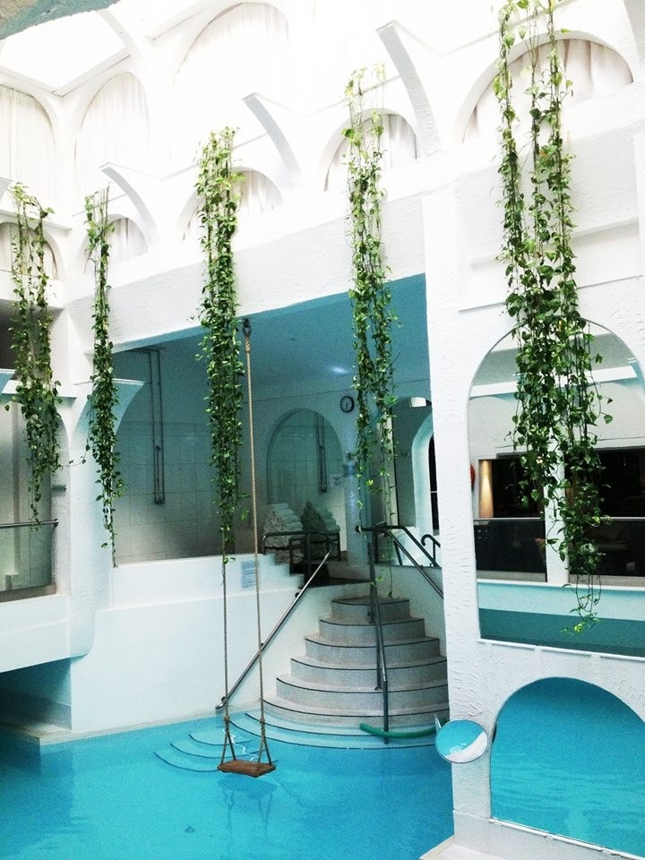 The sanctuary spa london spas pinterest spa - Outdoor swimming pool covent garden ...