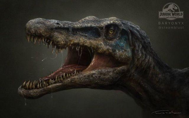 Jurassic World Fallen Kingdom Baryonyx Jurassic Park World
