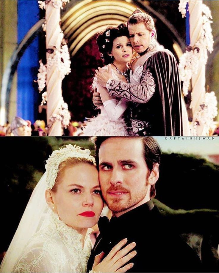 Hook and Emma look like they're ready to dive into battle!