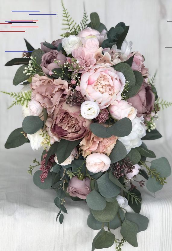 Brautstrauss Dusty Rose Brautstrauss Blumenstrauss Erroten Hochzeit Bouquet Mauve Dusty Rose Hochzeit Blume In 2020 Brautstrauss Rosen Altrosa Hochzeit Hochzeitsblumen