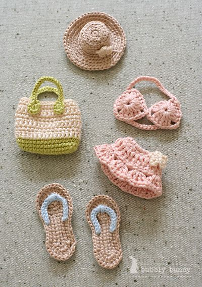 Mini Crochet: going to the beach!