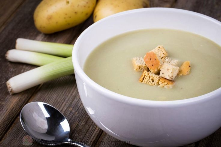 Potato and Leek Soup Recipe | Stay at Home Mum