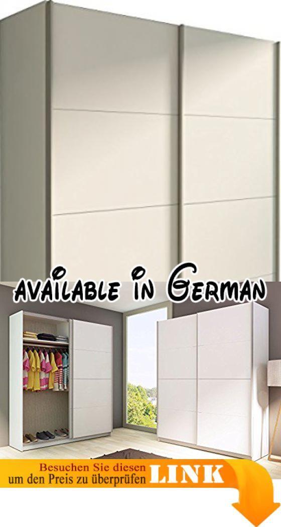 B01IVHLYCQ : Trasman 1035blanco Kleiderschrank Mit 2 Schiebetüren  Melaminharzbeschichtete Holzspanplatten Weiß 160 X 54 X 200