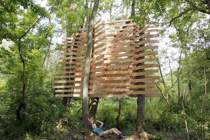Studio in the woods series
