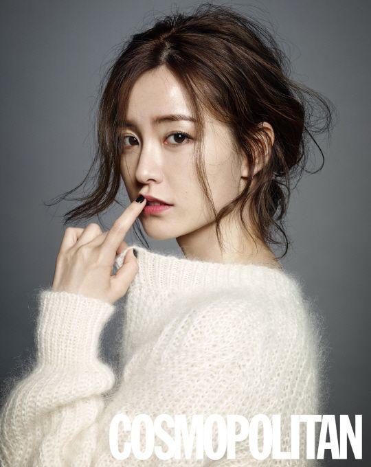 2014.08, Cosmopolitan, Jung Yumi