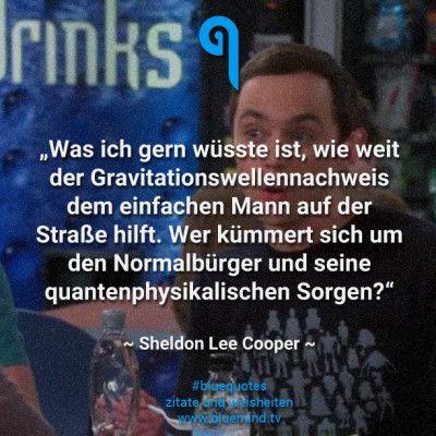 Sprüche von Sheldon Cooper