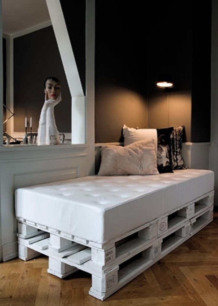 Home Ideas , Top 10 Wood Pallet Projects for your House : Wood Pallet Projects Pallet Bed