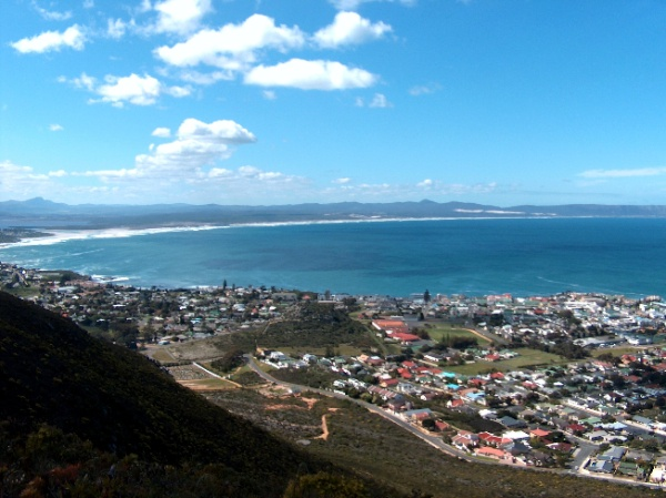 View of Walkerbay, Hermanus