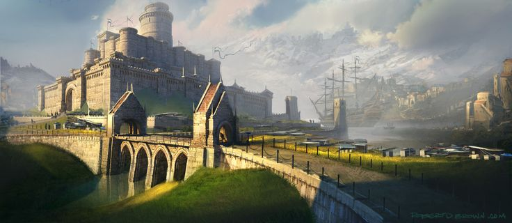 Fantasy Castle by Rob Brown
