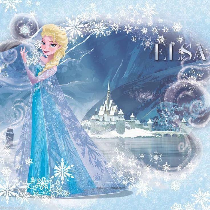 Fotobehang kinderen Disney Frozen IJskoningin Elsa 20