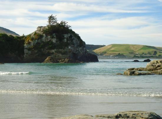 """Big Rock""Brighton Beach Dunedin"