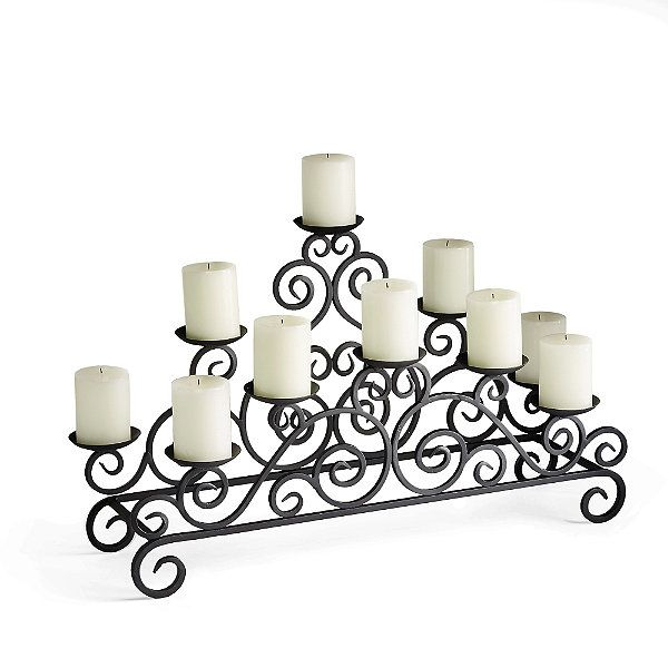 Siena Fireplace Candelabra