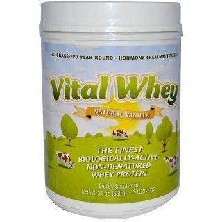 Een heerlijke, 100% natuurlijke whey proteïne gemaakt van melk die afkomstig is van koeien die dagelijks in de wei grazen. Geschikt voor zowel volwassenen als kinderen.  http://www.superfood.nl/vital-whey-vanille