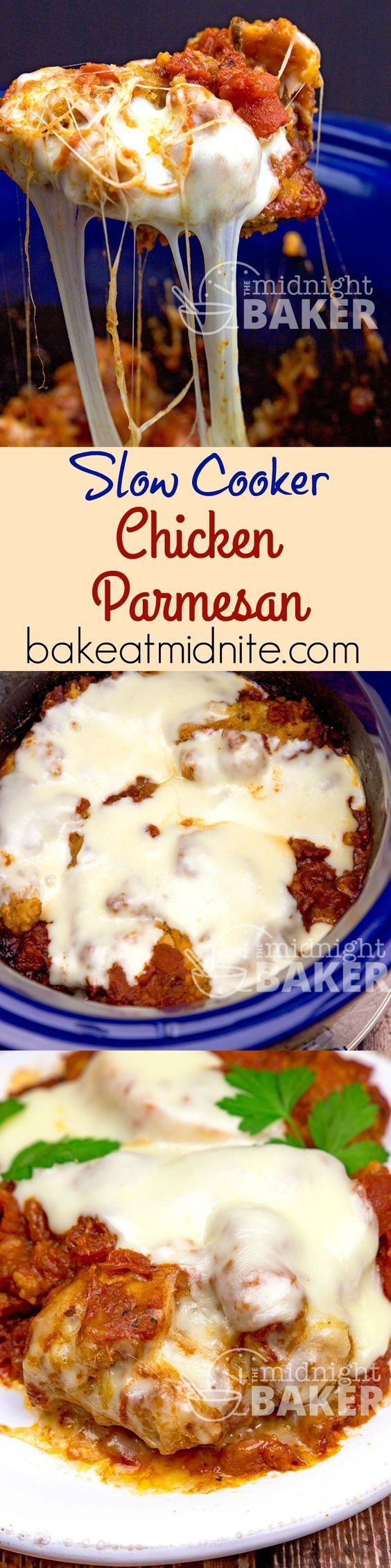 Chicken Parmesan - Bariatric Slow Cooker