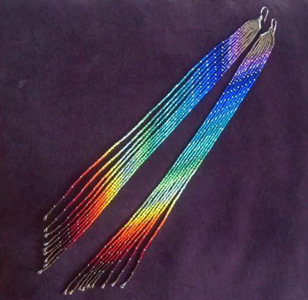 Maui Swan Designs Super Long Rainbow Maui par MauiSwanDesigns                                                                                                                                                                                 More