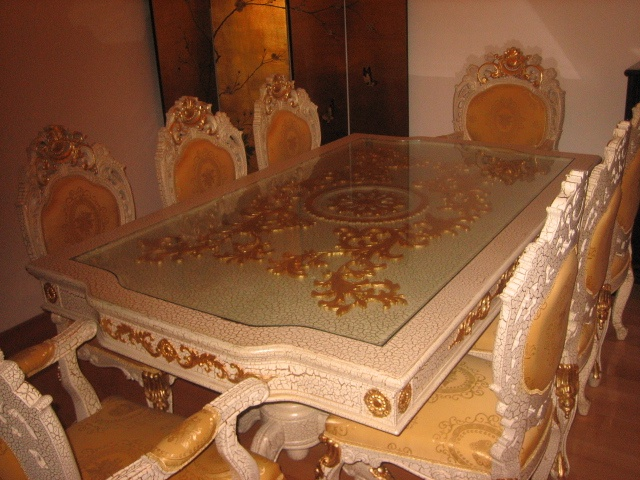 Louis XIV dining table: Louis Xiv, Xiv Dining, St. Louis, Dining Tables