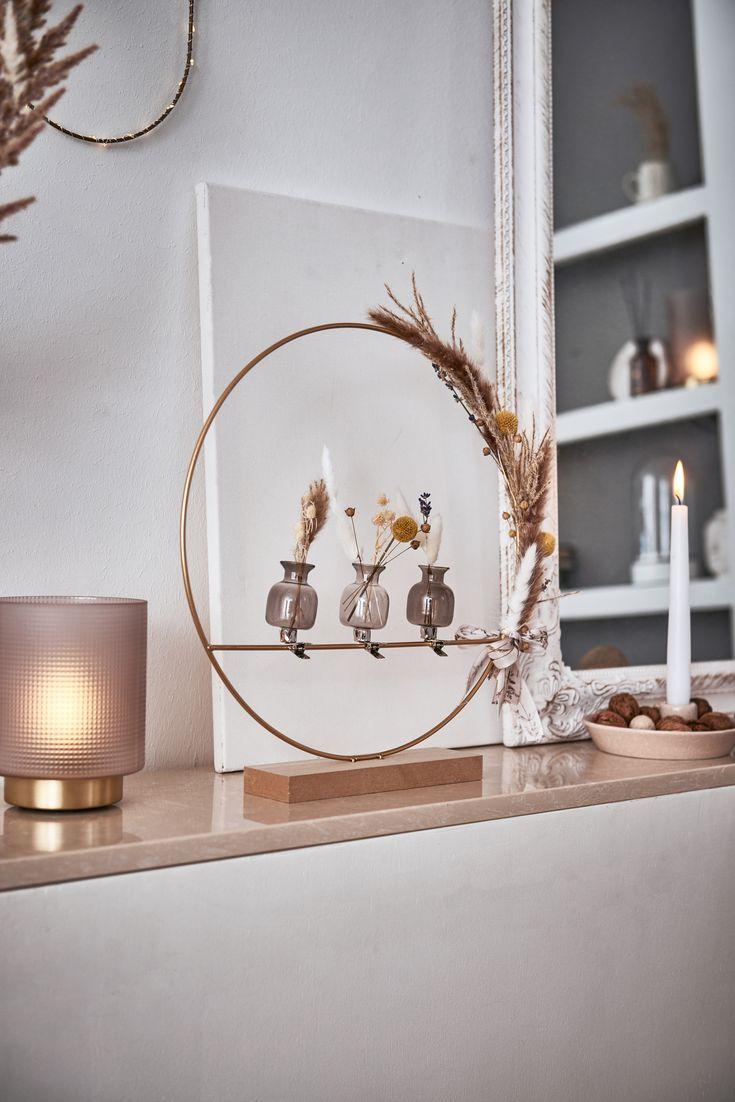 Shop the Look Metallring mit Trockenblumen   DEPOT 💚 in ...