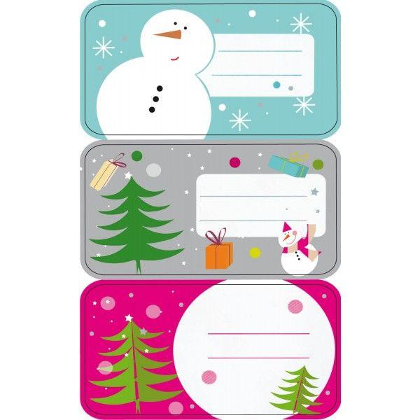 """Comprar 3 Hojas Etiquetas Regalo """" Muñeco de Nieve"""" Apli 11602  #regalo #casa #colores #colegio #school #infantil #niños #dibujos #etiquetas"""