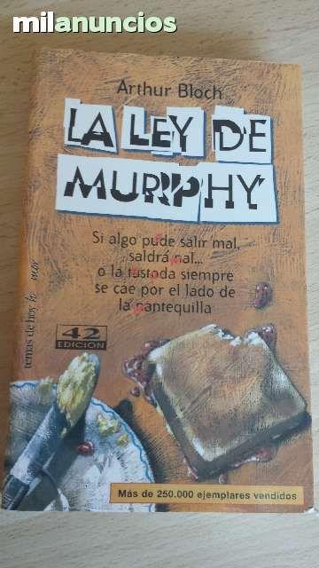 """Vendo libro """"La ley de Murphy"""". Anuncio y más fotos aquí: http://www.milanuncios.com/libros/la-ley-de-murphy-141817970.htm"""