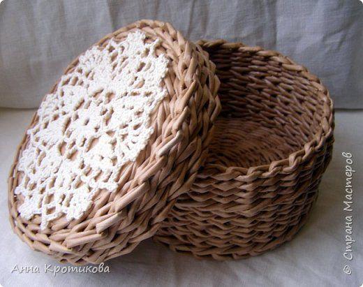Упаковка Плетение Коробка-упаковка Трубочки бумажные фото 3